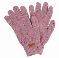 Barbour Donegal Knitted Glove - Lilac - LGL0075PU15
